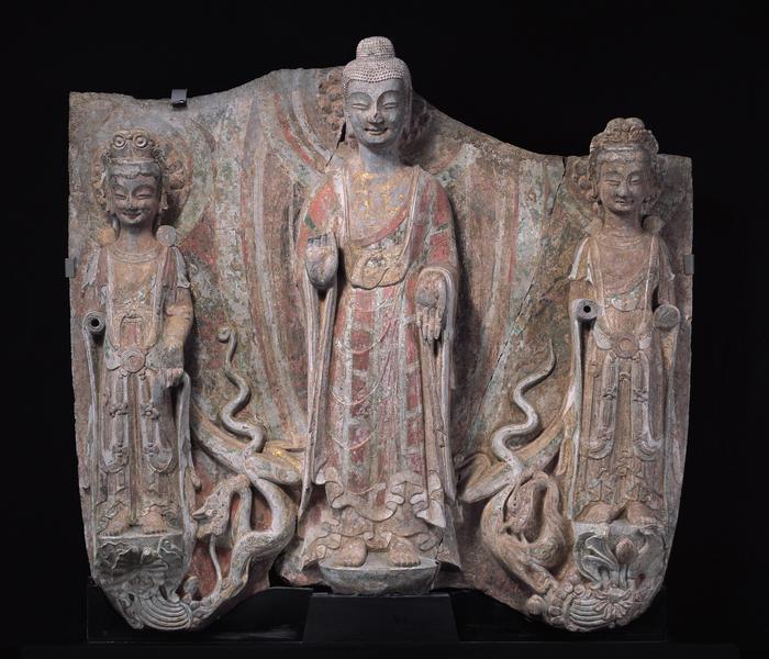 25 仏三尊像
